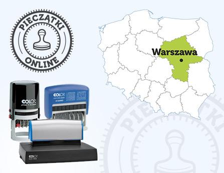 303f1244f4f994 Pieczątki w Warszawie - Zamów Pieczątki Online do Paczkomatu