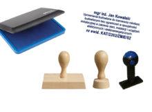 stemple drewniane i plastikowe