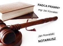 pieczątka radcy prawnego