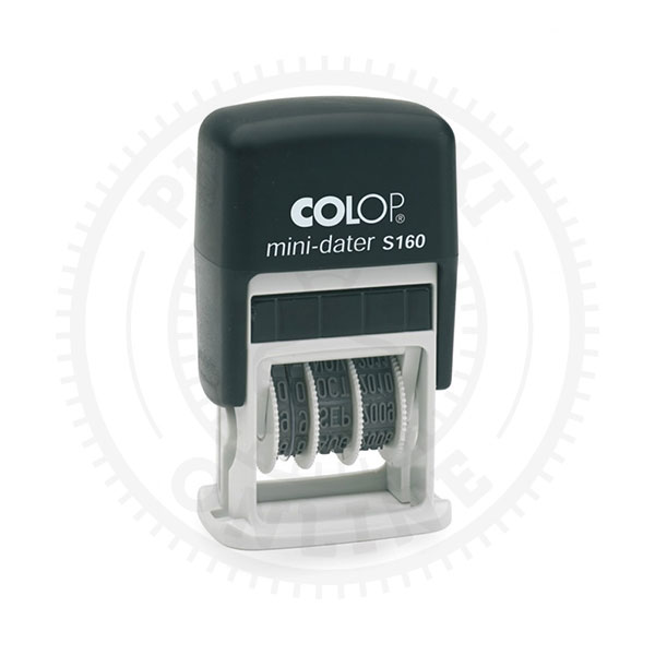 Colop Mini Dater S160 (data + dowolny tekst)